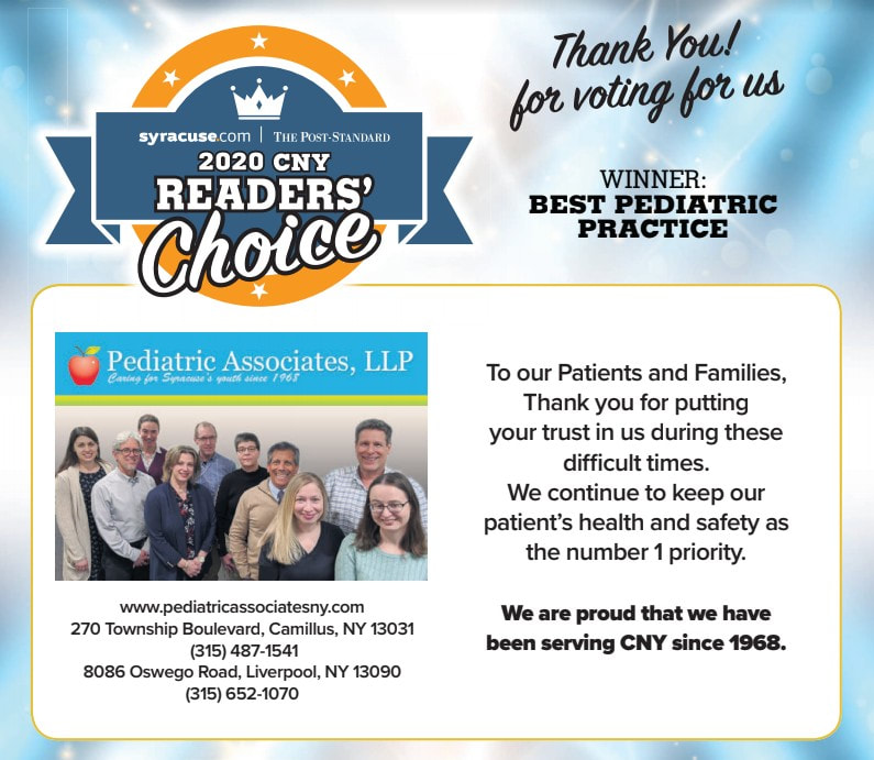 Best Peciatric Practice 2020 CNY Readers' Choice